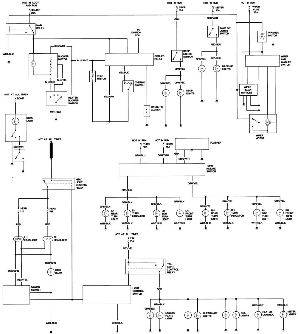 1994 toyotum radio wiring diagram