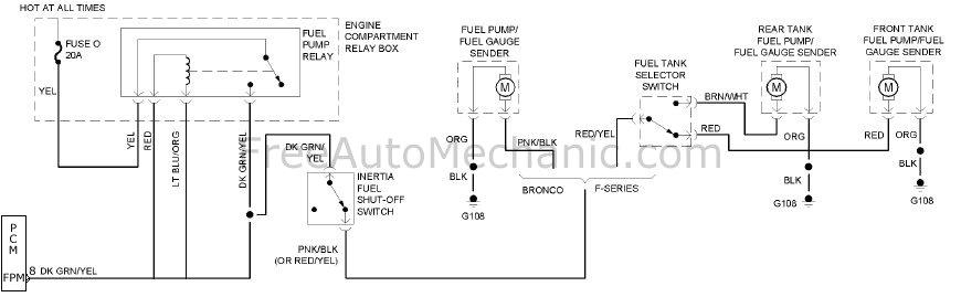 dual fuel tank 1994 f150 xlt