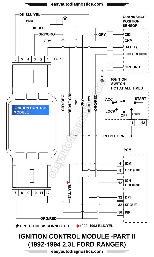ranger ignition system diagram 2