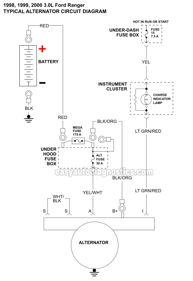 alternator wiring diagram 1