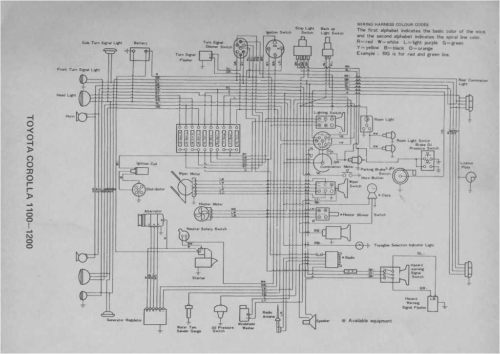 1999 toyota Corolla Wiring Diagram Pdf 1999 toyota Corolla Wiring Diagram