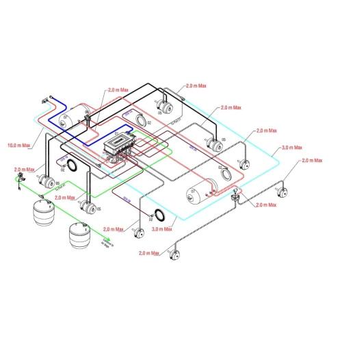2 axle trailer brake wiring diagram database