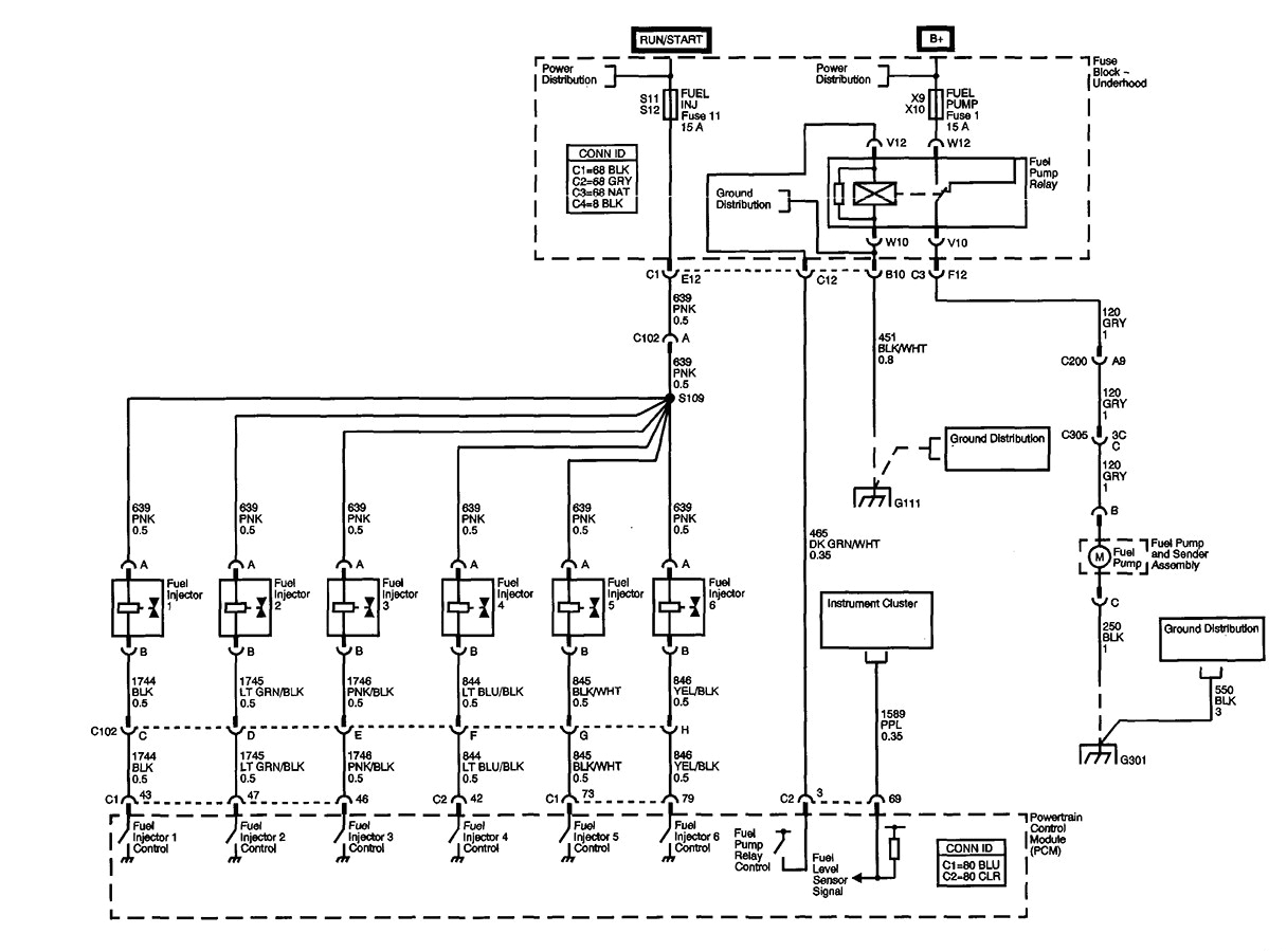 wiring diagram for 2002 buick century