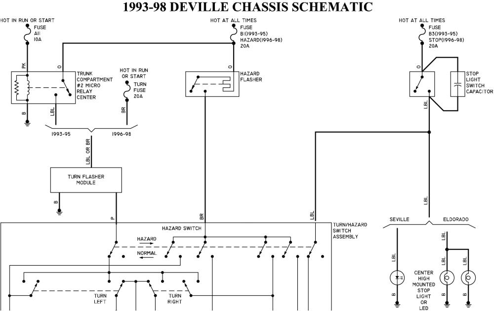 2003 cadillac deville wiring harnes