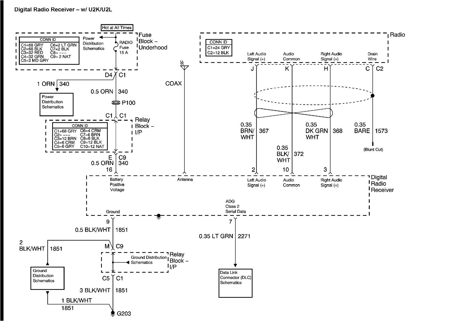2004 chevy truck radio wiring diagram