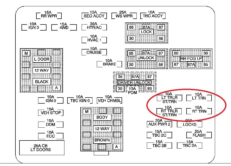 04 suburban fuse diagram