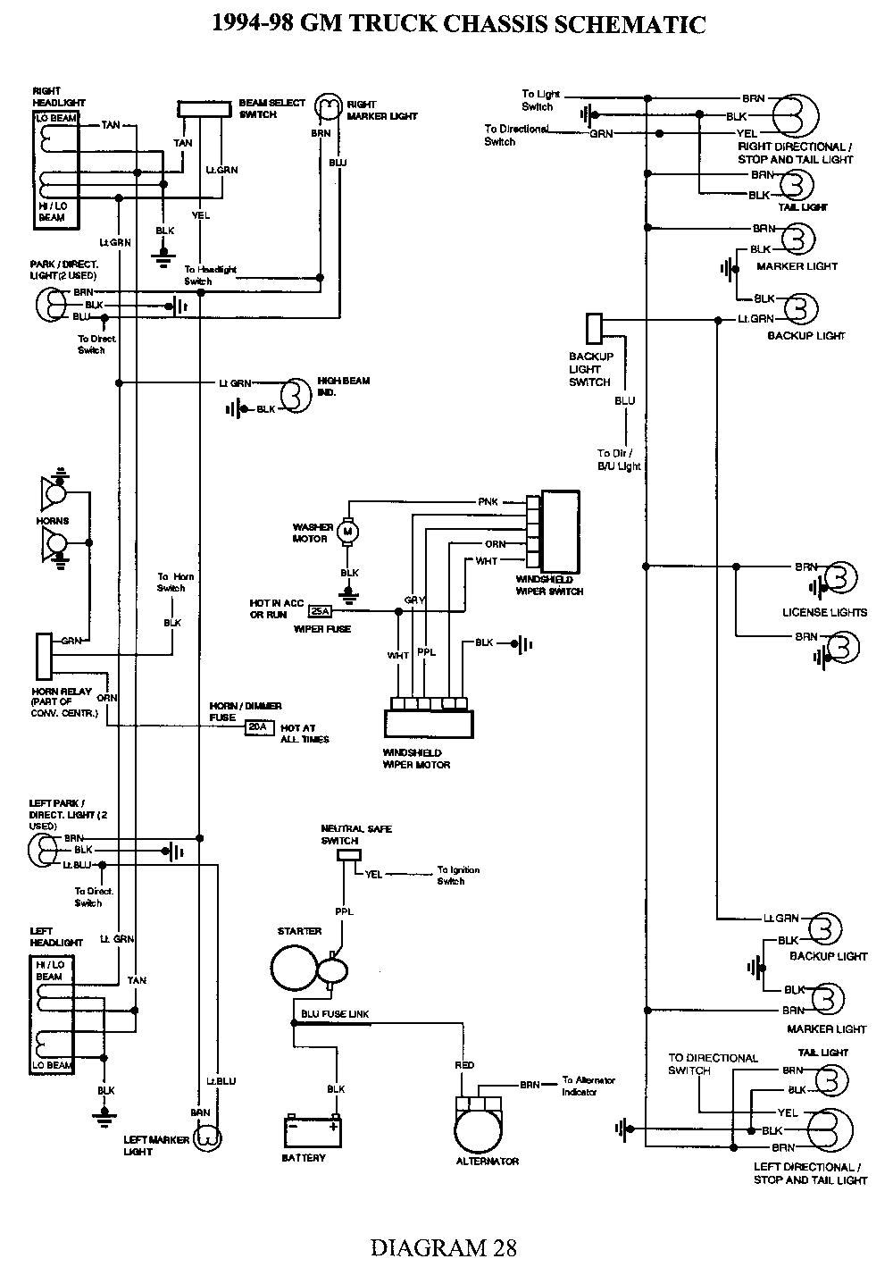 2005 silverado trailer wiring diagram