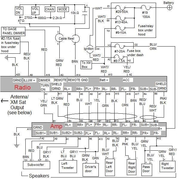 2008 honda pilot radio wiring diagram