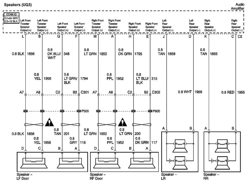 2003 impala stock radio wiring diagram