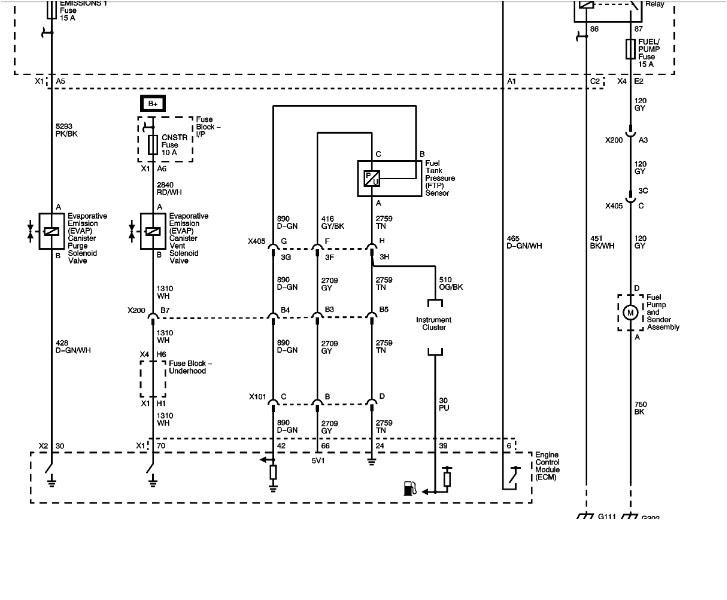 11 impala wiring schematic
