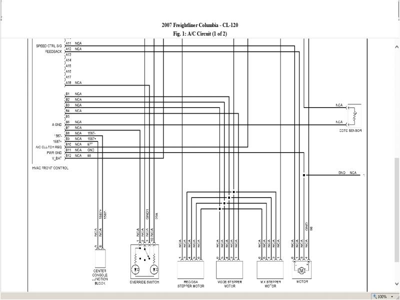 2013 freightliner cascadia radio wiring