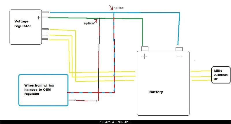 5 wire regulator rectifier wiring