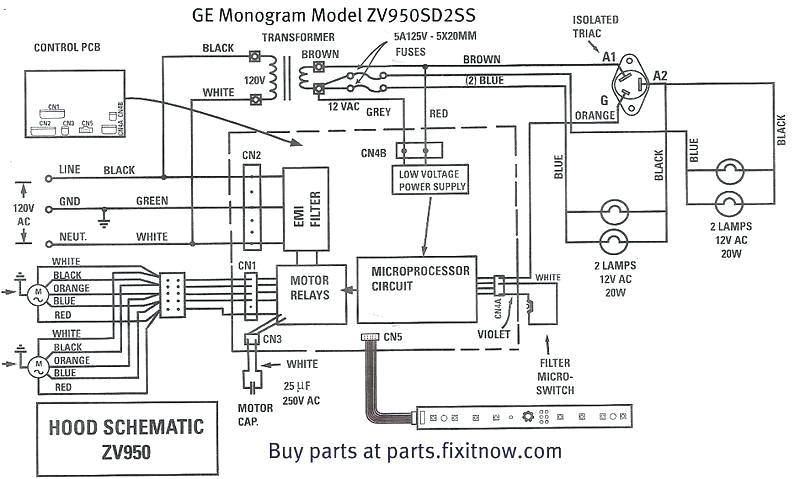 gas stove wiring diagram