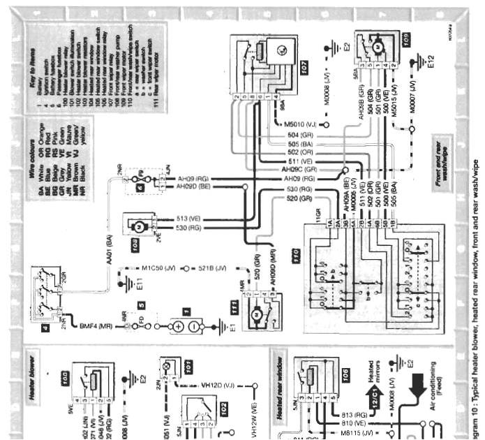 wiring diagram for citroen xsara picasso towbar