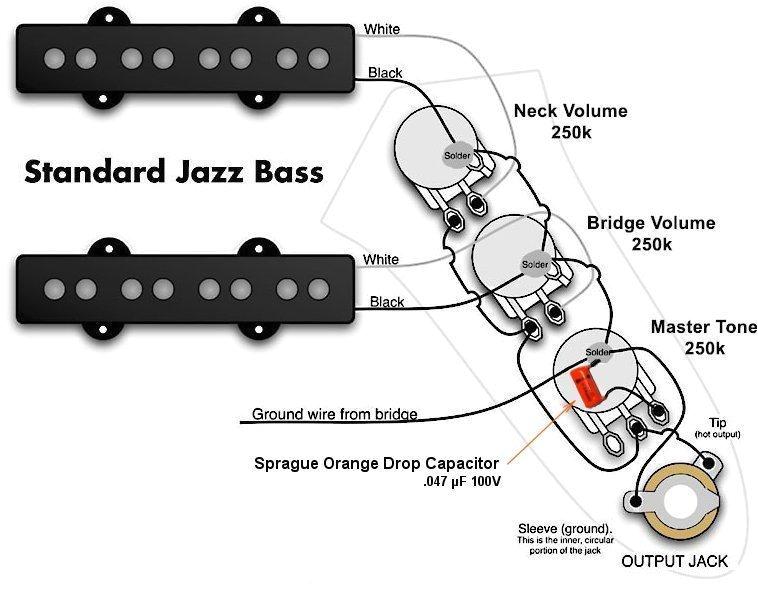 Fender Squier Bass Wiring Diagram Fender Squier Jazz Bass Upgrade soniccapture