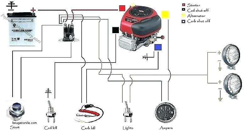 4 pole starter solenoid wiring diagram