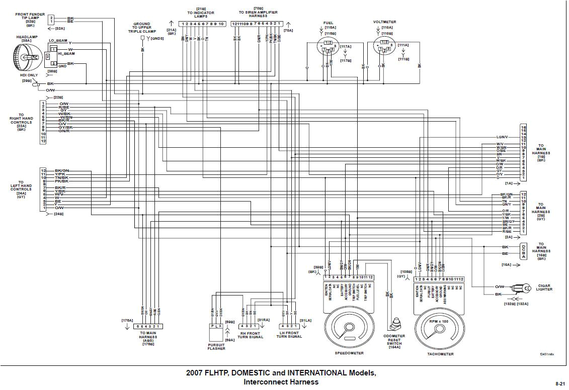 harley davidson radio wiring diagram