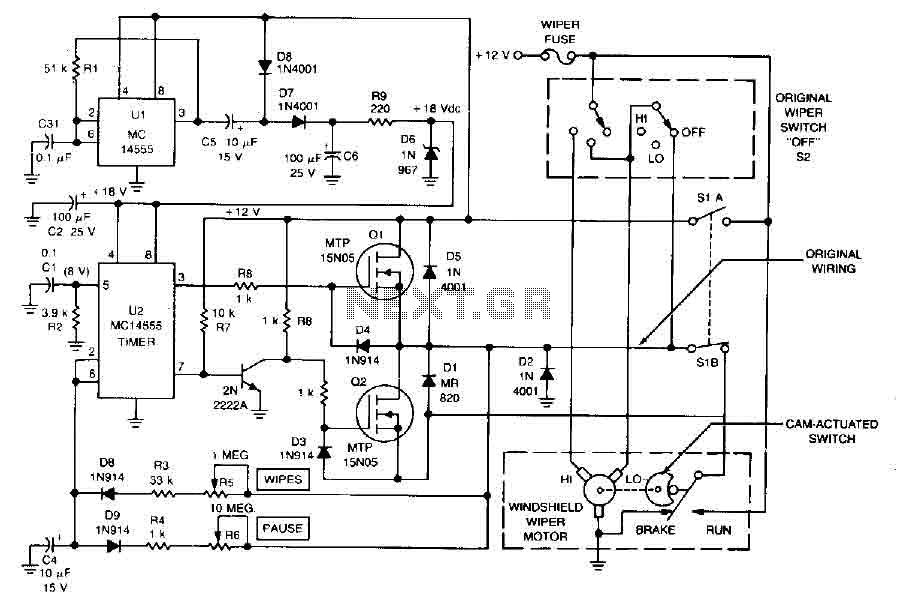 mitsubishi fuso exhaust brake wiring