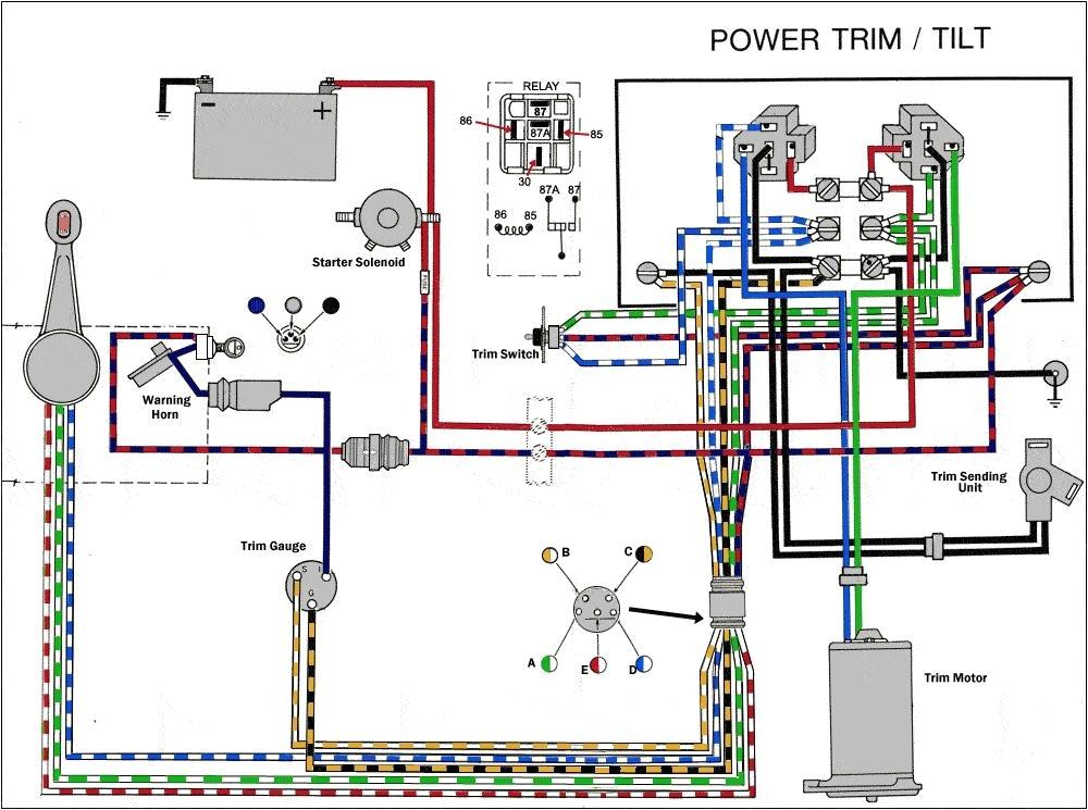 mercury outboard wiring diagram