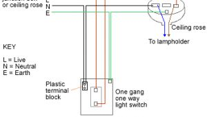 1 Gang 1 Way Switch Wiring Diagram Uk All About Electical One Way Switch