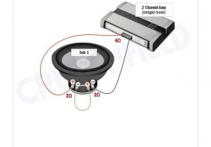 1 Ohm Speaker Wiring Diagram Amplifier Wiring Diagrams How to Add An Amplifier to Your Car Audio