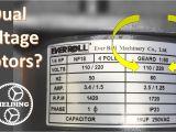 110 220v Motor Wiring Diagram Dual Voltage Motor Wiring Diagram Wiring Diagrams