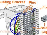 110 Punch Down Block Wiring Diagram How to Wire A 66 Block