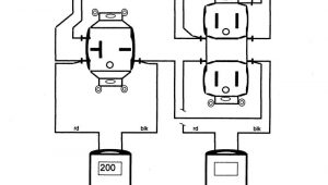 110 Volt Switch Wiring Diagram 110 Electrical Outlet Wiring Diagram Pin by Nw Rv In