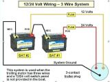 12 24 Volt Trolling Motor Wiring Diagram 24 Volt Battery Bank Wiring Diagram Automatic Charger Circuit for