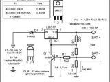 12 Volt Battery Charger Wiring Diagram 12v 7ah Battery Charge Circuit Lm317 Avec Images Schemas