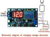 12 Volt Battery Charger Wiring Diagram Under Over Voltage Protection Module Battery Charger