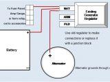 12 Volt Generator Voltage Regulator Wiring Diagram or 12 Volt Positive Ground Wiring Data Schematic Diagram