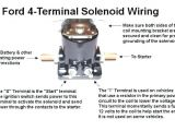 12 Volt Starter solenoid Wiring Diagram 12 Volt solenoid Wiring Diagram for F250 1990 Home Wiring Diagram