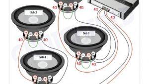 12 Volt Subwoofer Wiring Diagram Subwoofer Wiring Diagrams with Images Subwoofer Wiring