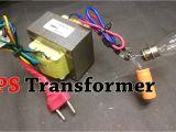 120 Volt to 24 Volt Transformer Wiring Diagram Ups Transformer as A 12 Volt 4ah Dc Adapter Step Down Transformer