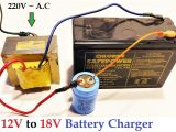 12v Battery Box Wiring Diagram 12v to 18v Dc From 220v Ac Converter for Battery Charger Amazing Idea Diy