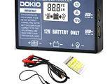 12v Battery Box Wiring Diagram Dokio solarregler 20a Amazon De Gewerbe Industrie