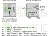 12v Switch Wiring Diagram 12v Relay Wiring Diagram 5 Pin Luxury A Type Od Part V Wire Diagram