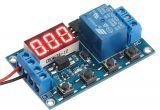 12v Timer Relay Wiring Diagram Relay Module 6 30v Multifunction 1 Channel Relay Delay Off On Off