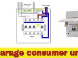 17th Edition Consumer Unit Wiring Diagram Wiring Diagram for Garage Wiring Diagram More