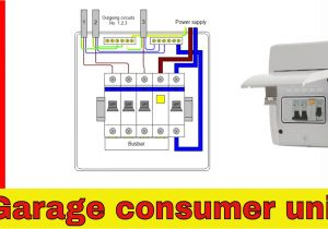 17th Edition Consumer Unit Wiring Diagram Wiring Diagram for Garage Wiring Diagram More