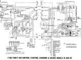 1965 ford F100 Alternator Wiring Diagram 1962 ford F100 Wiring Diagram Blog Wiring Diagram