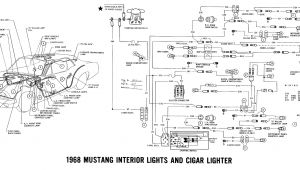 1968 Mustang Instrument Cluster Wiring Diagram 1968 Mustang Wiring Diagrams and Vacuum Schematics Average