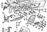 1968 Pontiac Firebird Wiring Diagram 1967 68 Firebird Instrument Panel Illustrated Parts Break Down