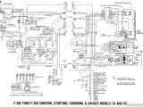 1969 ford F100 Wiring Diagram Wiring Diagram Online ford Truck Technical Drawings and Schematics
