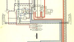 1971 Vw Bus Wiring Diagram thesamba Com Type 2 Wiring Diagrams