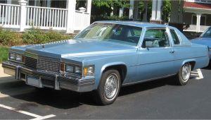 1977 Cadillac Coupe Deville Parts Cadillac De Ville Series