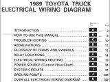 1989 toyota Pickup Radio Wiring Diagram 1989 toyota Pickup Wiring Diagram Database