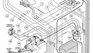 1993 Club Car Golf Cart Wiring Diagram Club Car 36v Battery Wiring Diagram Wiring Diagram Name