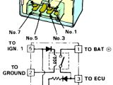 1993 Honda Civic Fuel Pump Wiring Diagram Check the Honda Main Relay In Your Car